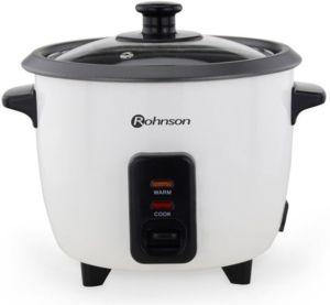 Уред за готвене на ориз Rohnson RC 11, Мощност 400 W, Незалепваща повърхност